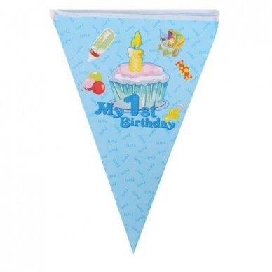 1 ojo gimtadienio girlianda 2