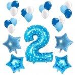2 - ojo gimtadienio balionų rinkinys