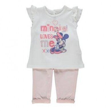 2 dalių mergaitiškas komplektas Minnie Mouse