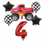 4 - ojo gimtadienio balionų rinkinys Blaze