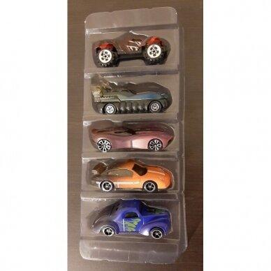 5 vnt. automodeliukų rinkinys Hot Wheels 2