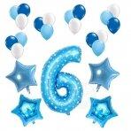 6 - ojo gimtadienio balionų rinkinys