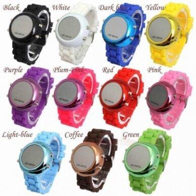 LED laikrodžiai