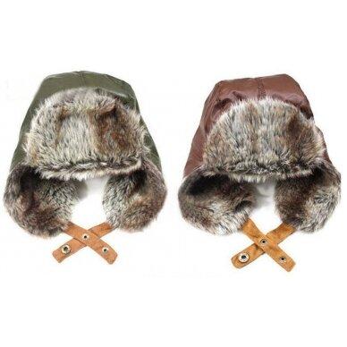 Berniukiška žieminė kepurė
