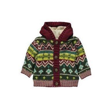 Šiltas berniukiškas megztinis