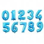 Balionas su skaičium, pasirenkamas