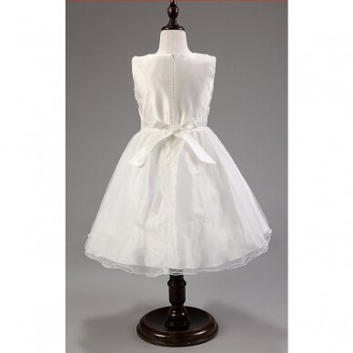 Balta puošni suknelė 2