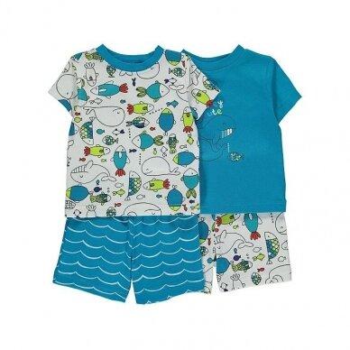 Berniukiška vasarinė pižama, 2 vnt.