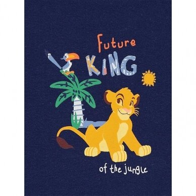 """Berniukiška vasarinė pižama """"Liūtas Karalius"""", 2 vnt. 2"""
