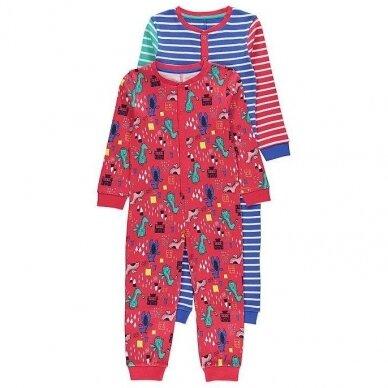 Berniukiška vientisa pižama, 2 vnt.