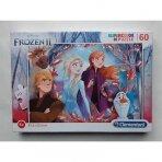 Dėlionė Frozen, 60 dalių