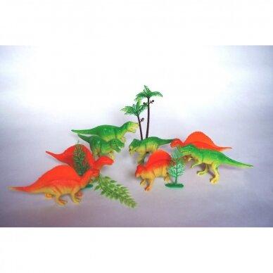 Dinozaurų rinkinys kuprinėje