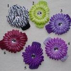 Galvos juostelė su gėle