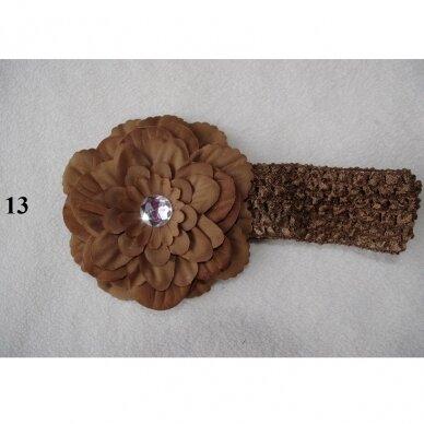 Galvos juostelė su gėle 2