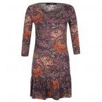 Gėlėta suknelė - tunika