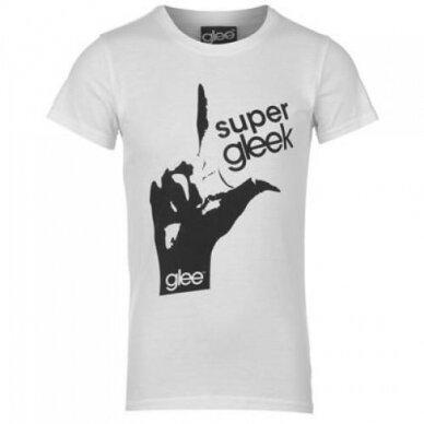 Glee marškinėliai mergaitei