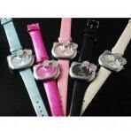 Hello Kitty laikrodukas su akmenukais