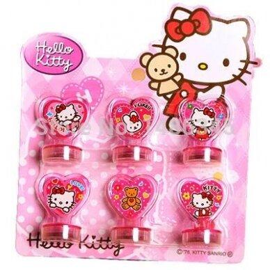 Hello Kitty antspaudukų rinkinys