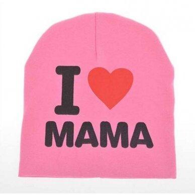 """Kepurė """"Myliu mamą"""""""