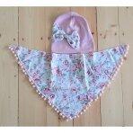 Komplektas: kepurė ir kaklaskarė, 3-5 metai