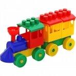 Konstruktorius garvežys su vienu vagonu, 10 det.