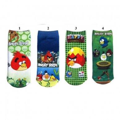 """Kojinės """"Angry Birds"""""""