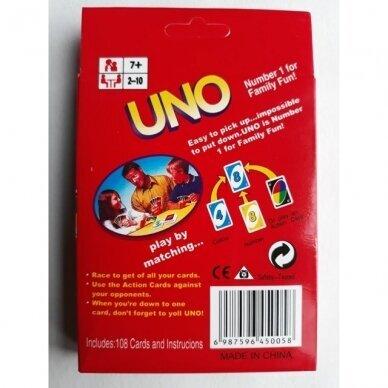 Kortų žaidimas UNO 2