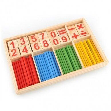 """Lavinamasis žaidimas """"Mokomės skaičiuoti"""""""