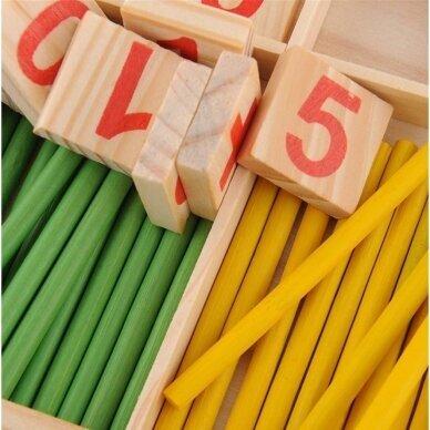 """Lavinamasis žaidimas """"Mokomės skaičiuoti"""" 2"""