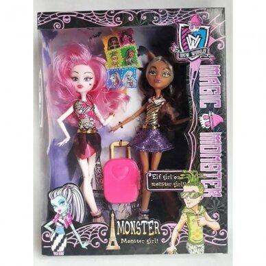 Lėlės Monster High, 2 vnt.
