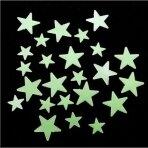 """Lubų-sienų lipdukai """"Šviečiančios žvaigždutės"""""""