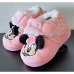 Mergaitiškos kambarinės šiltos šlepetės Minnie Mouse