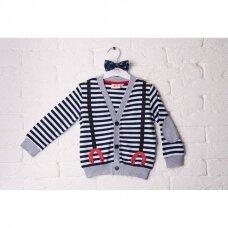 Užsagstomas stilingas megztinis