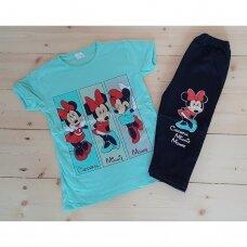 Mergaitiškas 2 d. komplektas Minnie Mouse