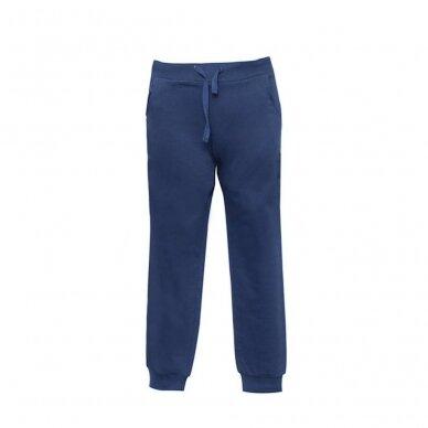 Mėlynos sportinės kelnės