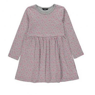 Mergaitiška gėlėta suknelė