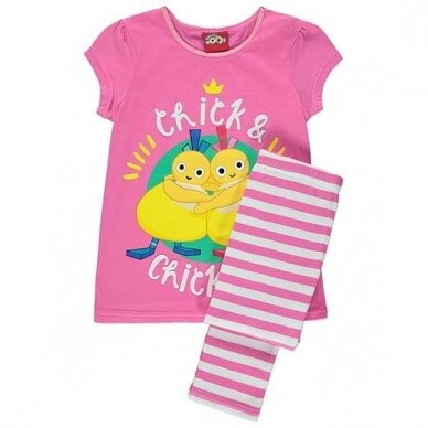 """Mergaitiška pižama """"Viščiukai"""""""