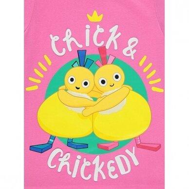 """Mergaitiška pižama """"Viščiukai"""" 2"""