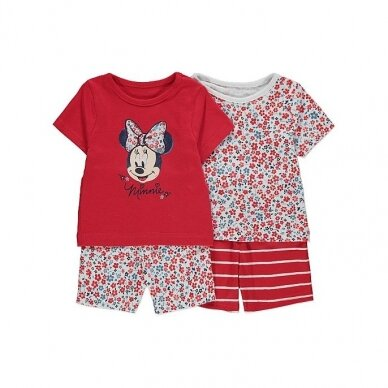 "Mergaitiška vasarinė pižama ""Minnie Mouse"", 2 vnt."