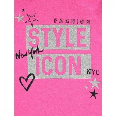 """Mergaitiškas džemperis """"Stiliaus ikona"""" 2"""