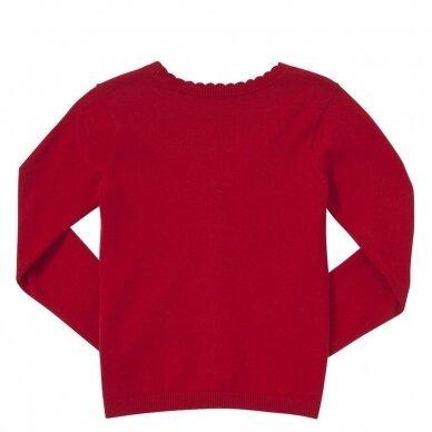 Mergaitiškas užsagstomas megztinis 2