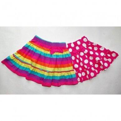Mergaitiški sijonai, 2 vnt.