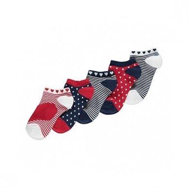 Mergaitiškos kojinės, 5 vnt.