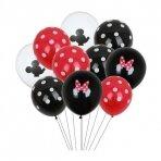 Minnie Mouse balionai, 10 vnt.