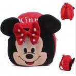 Minnie Mouse darželinuko raudona kuprinė