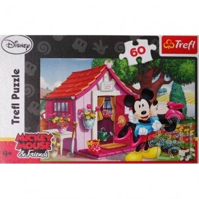Mickey Mouse puzzle, 60 dalių