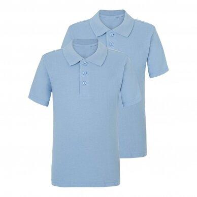Mokykliniai polo marškinėliai, 2 vnt.