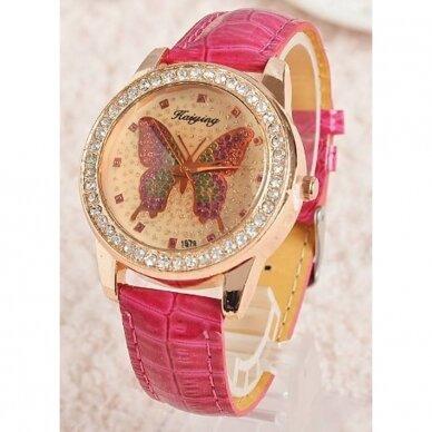 Laikrodis Drugelis
