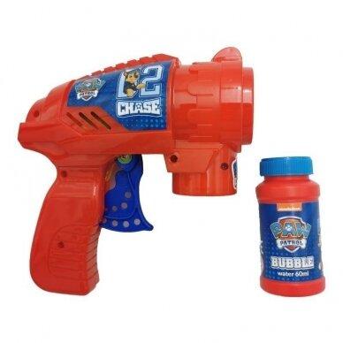 Muilo burbulų šautuvas Paw Patrol 2