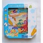 """Piešimo vandeniu knygelė """"Dinozaurai"""""""
